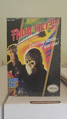 SDCC FRIDAY THE 13TH JASON VOORHEES NECA 8 BIT VIDEO GAME FIGURE MUSIC WORKS!