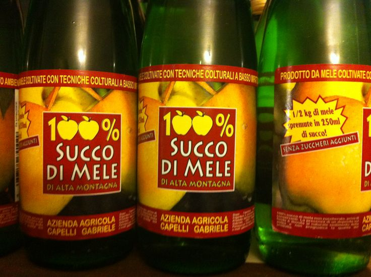 Today applejuice produced by a farm of Valtellina Azienda Agricola Capelli Gabriele 100% apple juice comes from a farm in Valtellina.
