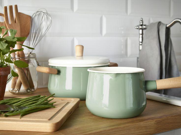 KASTRULL pannen. Maak je keuken helemaal af met onze producten! #IKEA #keuken  #mijnservies
