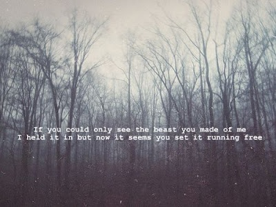 Favourite lyric (Florence and the machine Howl)