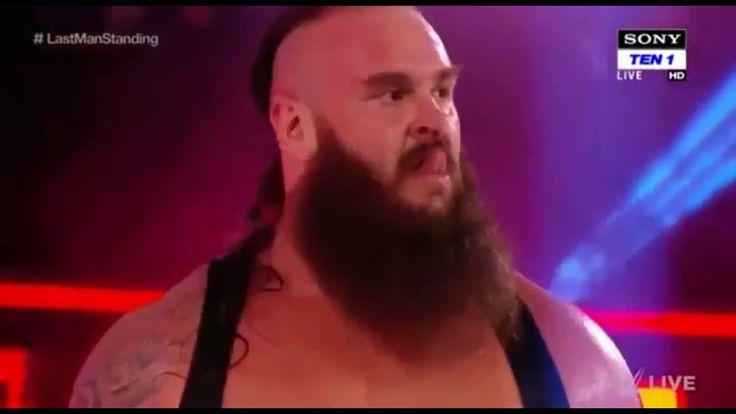 Braun Strowman Vs Kane match WWE Raw 5th February 2018 Highlights360p