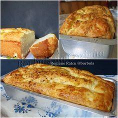 Pão de Cebola sem glúten sem lactose e sem açúcar