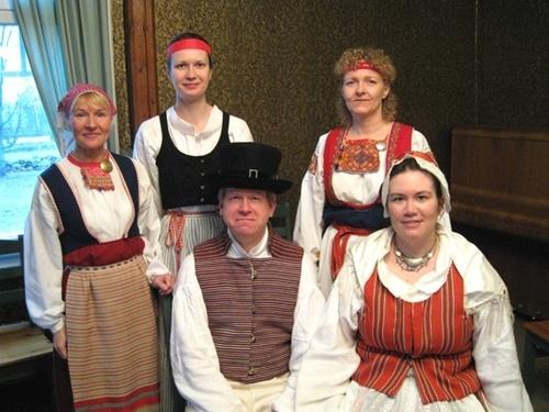 Finnish folk costumes