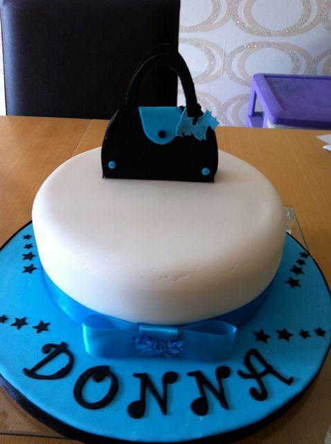 Walnut Whip Birthday Cake