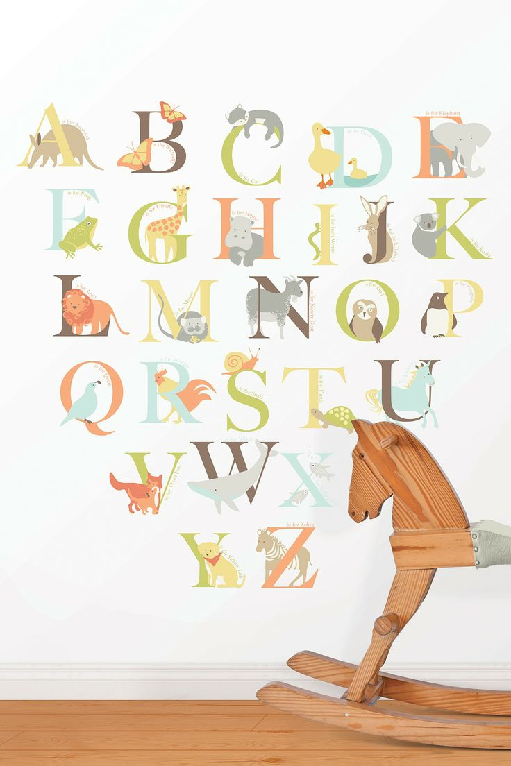 91 best skip hop alphabet zoo images on pinterest zoos alphabet teacher gift ideas these alphabet wall decals would be perfect for a reading nook or preschool classroom the fun designs combine play and learning