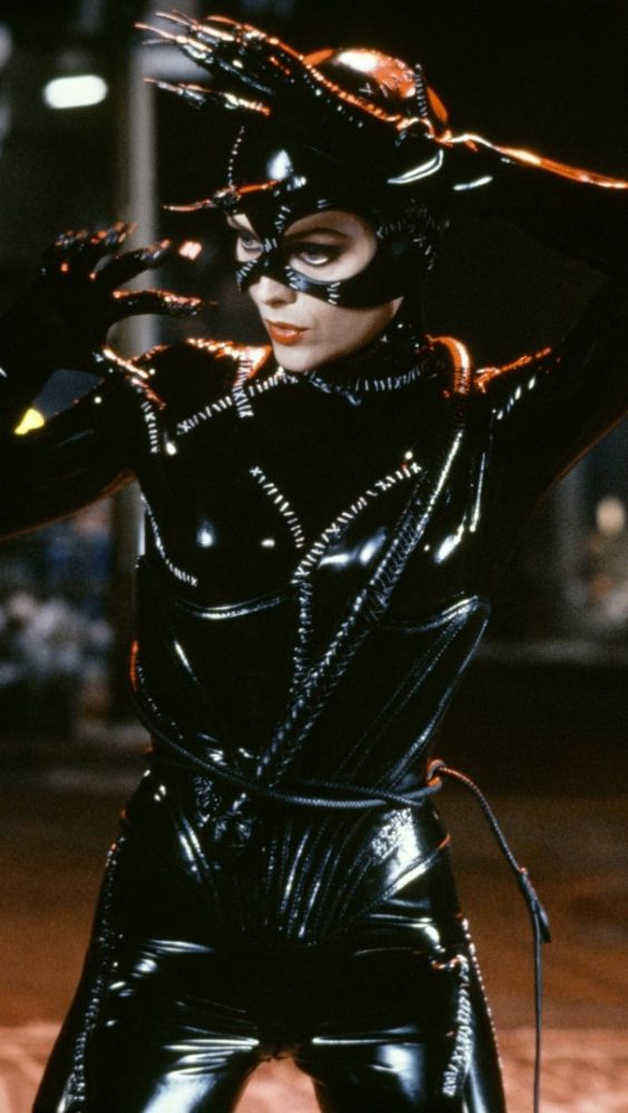 Michelle Pfeiffer as Catwoman in Tim Burton's