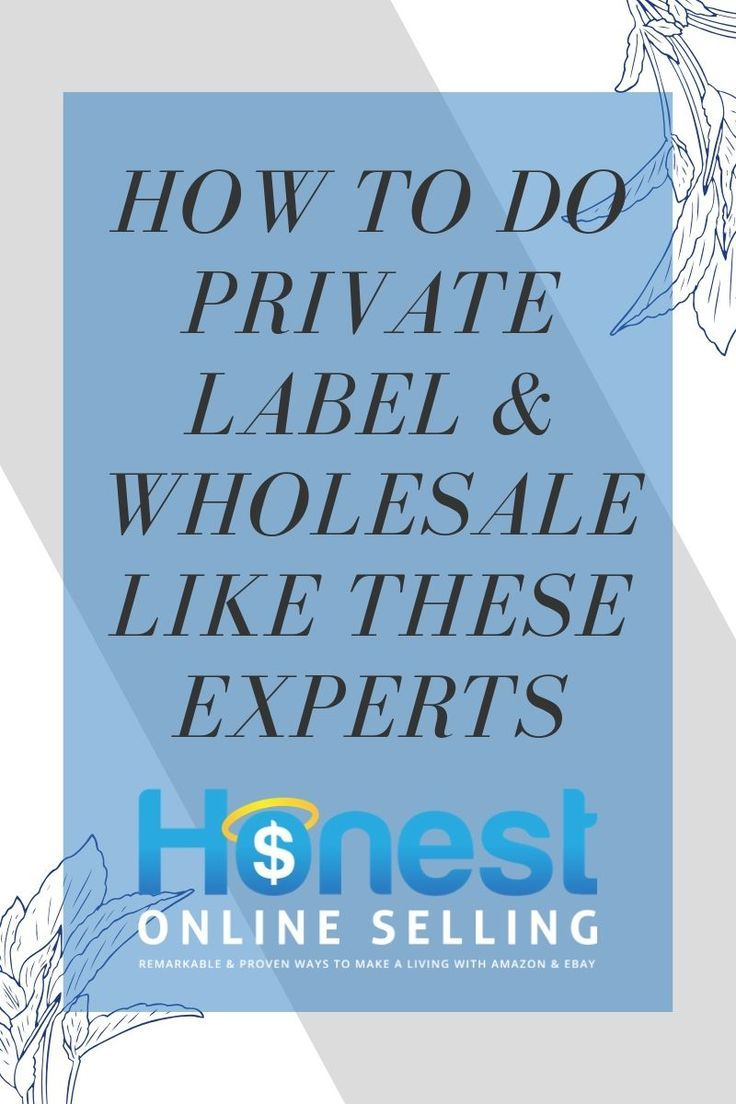Secrets To Winning With Private Label Or Wholesale Private Label Make Money On Amazon Business Motivation