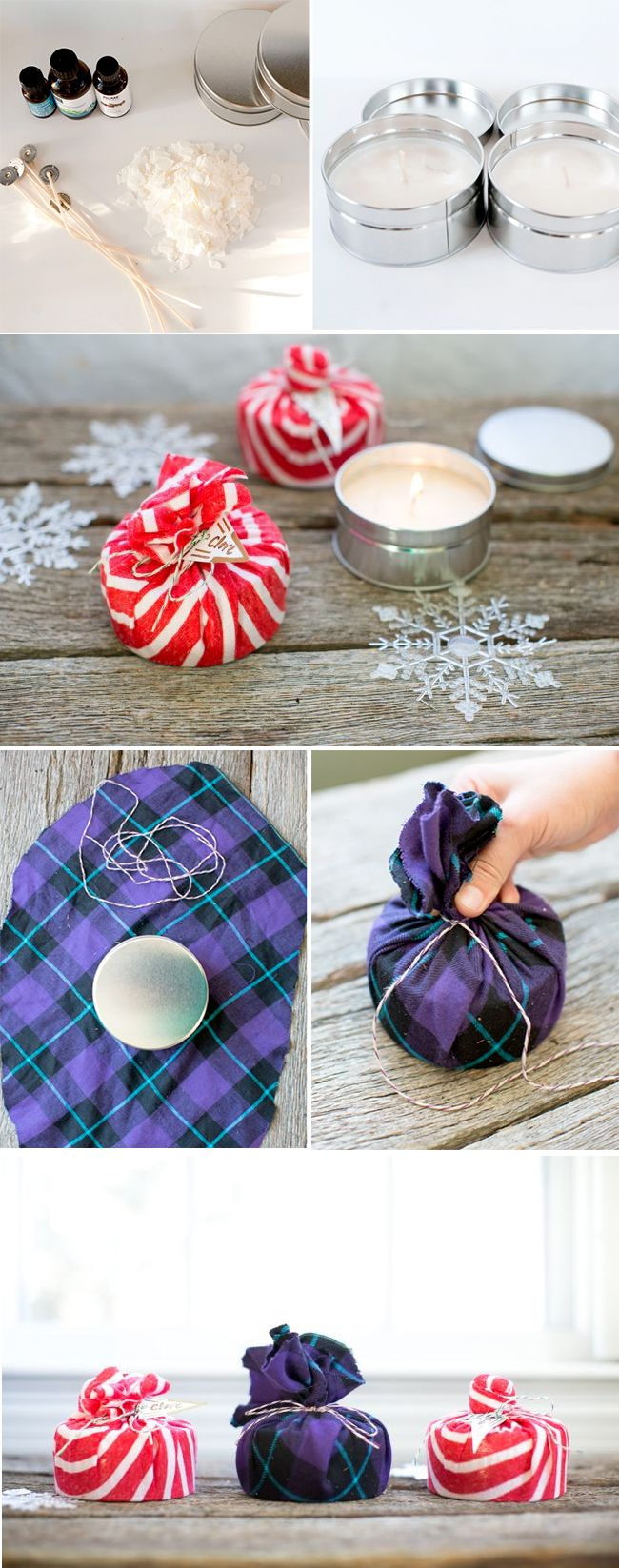 Perfect Hostess Gift! DIY Soy Wax Candles | http://hellonatural.co/diy-soy-wax-candles/