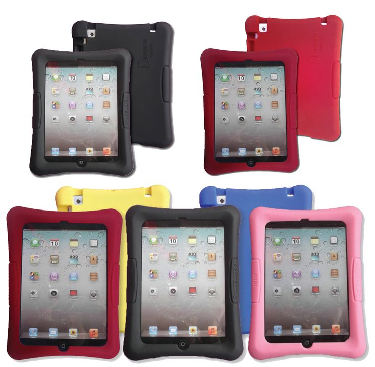 Kid-Friendly Protective Silicone Shell Case for the iPad mini 1, 2 & 3