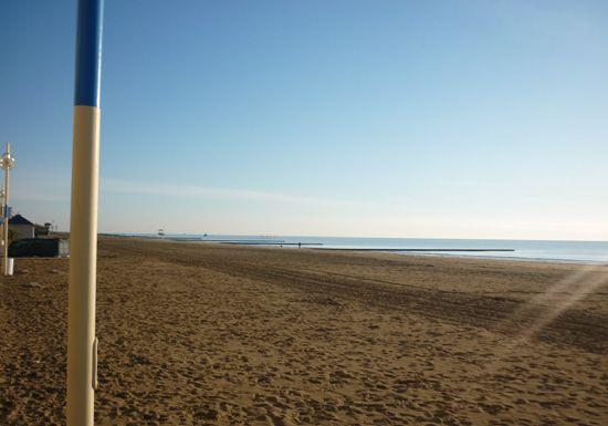 Il mare d'inverno! Jesolo