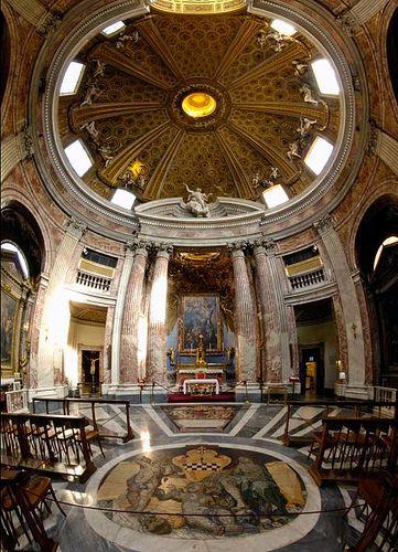 Gian Lorenzo Bernini - Chiesa di Sant'Andrea al Quirinale 1658-1678
