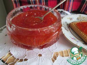 Варенье из красного грейпфрута