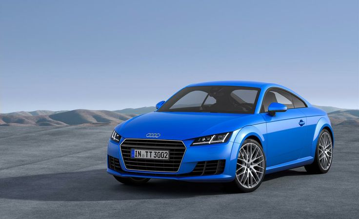 2016 Audi TT is similar with the previous model but with more sporty and sleek appearance. With horizontal feel  and vehicle  #audi #auditt #auditts #cars #automotive
