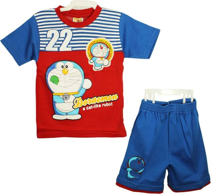 #Kid's #Care #Boys #Casual #T-shirt #Shorts  (#Red)