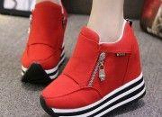 yeni Dolgu Topuk Spor Ayakkabı Modelleri