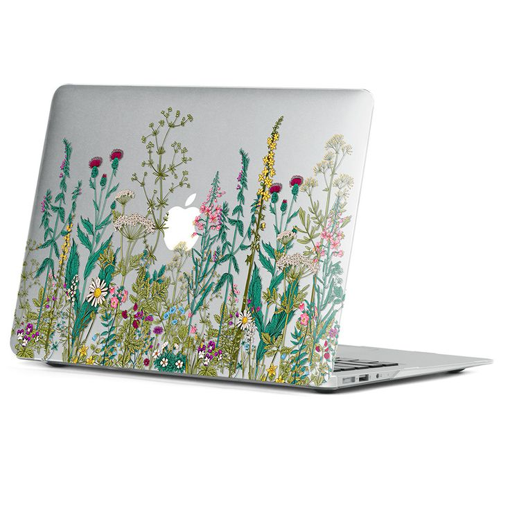 Ultra-slim crystal case (flower printing) for Apple MacBook Air 13 inch