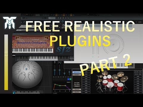 Best FREE Realistic Instrument VST/AU Plugins For Windows