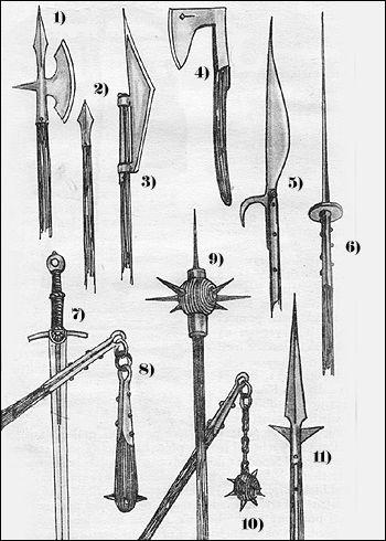 Hussite Weapons - Hussite wars