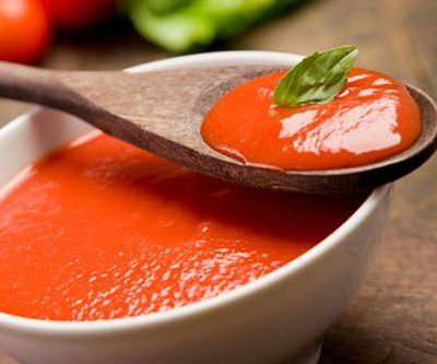 Recette de la sauce tomate épicée