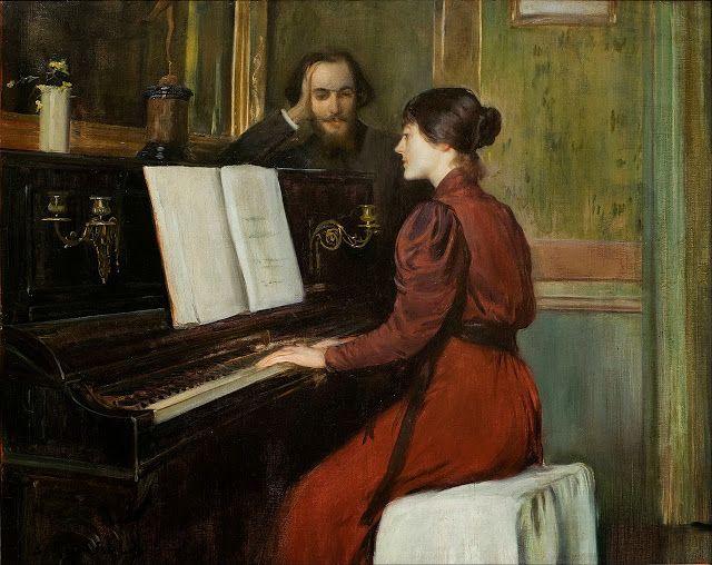 Un romance, Santiago Rusiñol (1894).