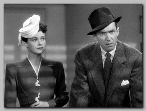 The Philadelphia Story - Ruth Hussey and James Stewart