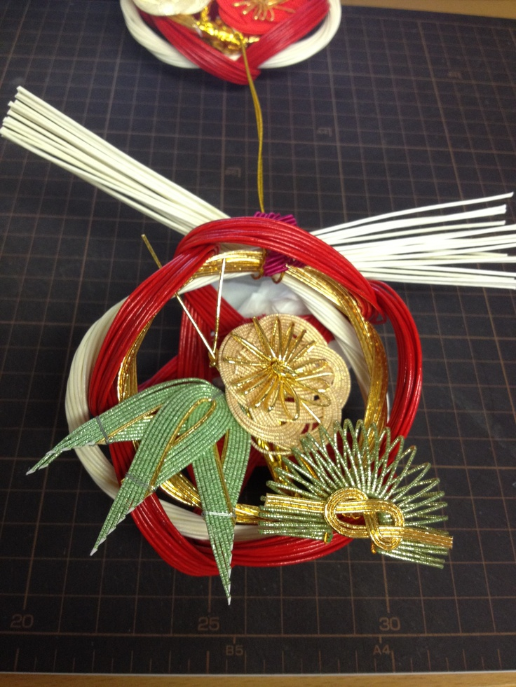 New Year ornaments  正月飾り ....  松竹梅  ㈲ながさわ結納店    #Japan  #wedding