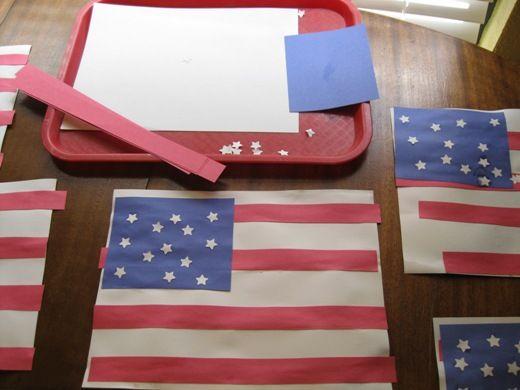 Patriotism in Preschool – Independence Day Crafts & Activities