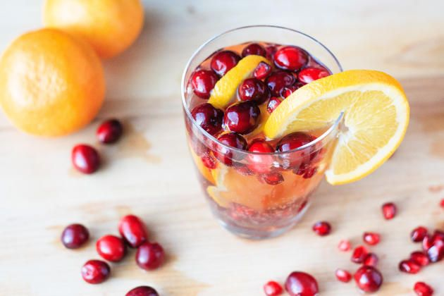 Christmas Sangria is the delightful cocktail everyone will love this Christmas. Full of gorgeous Christmas flavors!