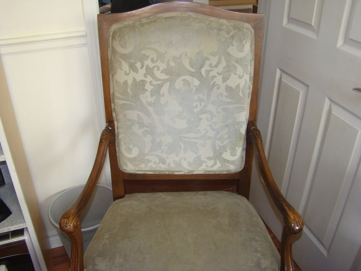 Armchair, carved frame.$225, Item # CS-1007 In stock http://www.findandtreasure.com/catalogue.html