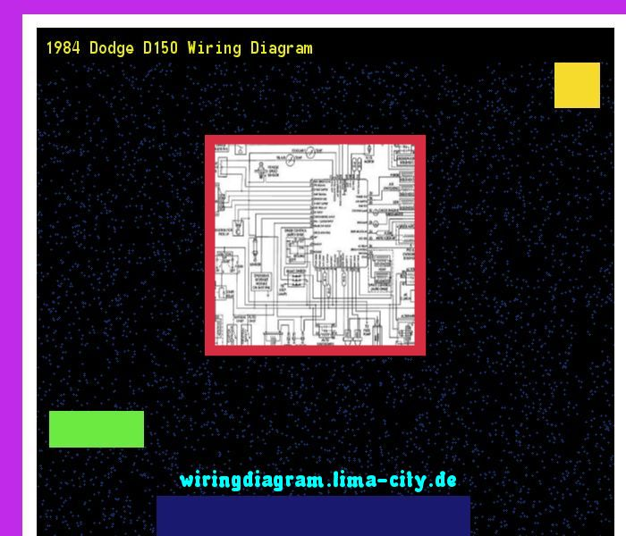 1984 Dodge D150 Wiring Diagram  Wiring Diagram 185729
