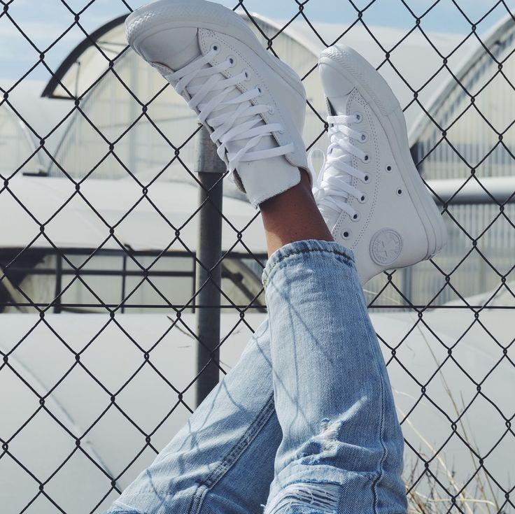 Revoluciona tus looks con las nuevas #zapas de corte con caña alta botín de Converse. LoVe♥
