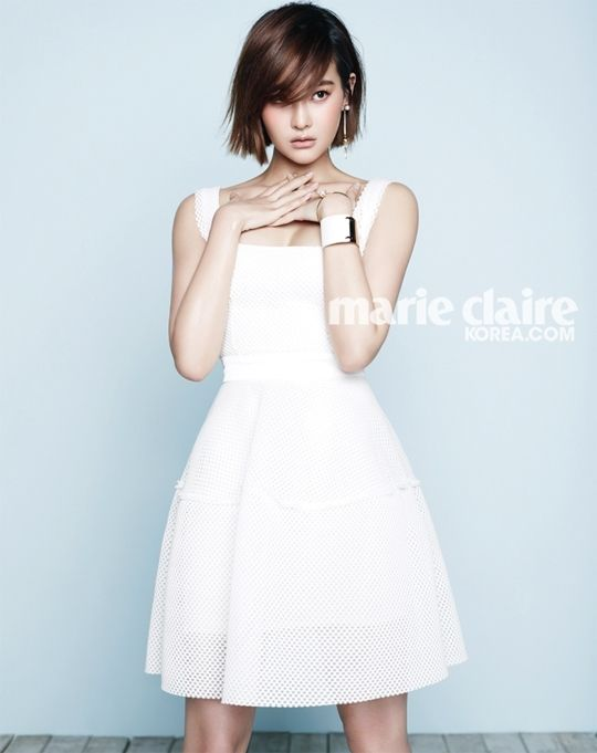 2014.04, Marie Claire, Oh Yeon Seo