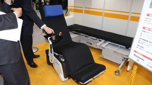Panasonic's robotic bed/wheelchair first to earn global safety certification
