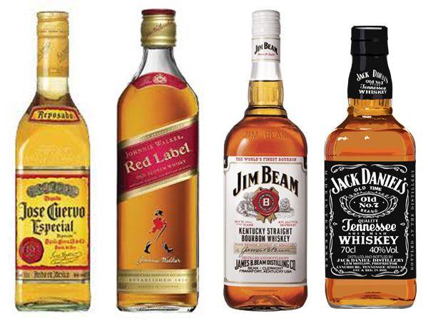In honor of the apocalypse, The Four Horsemen:    1/2 Oz each: Jose Cuervo, Johnnie Walker Red, Jim Beam & Jack Daniels