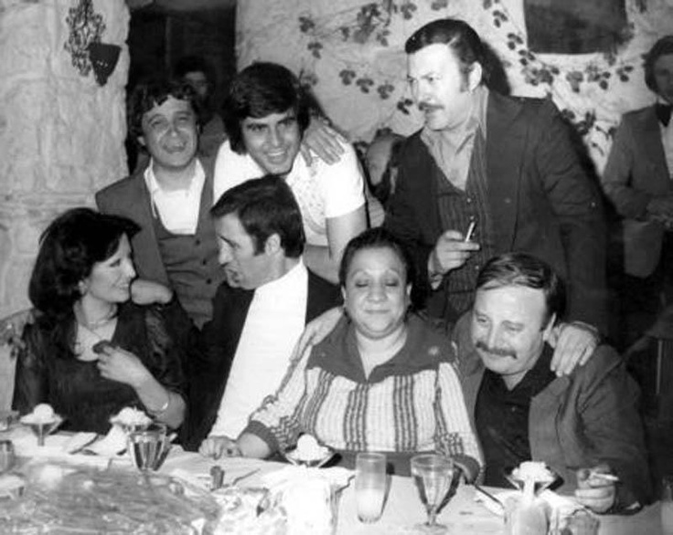 The greatest actors and actress of Turkish Cinema 70's