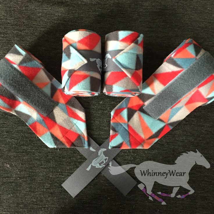 Seaside geometric polo wraps by WhinneyWear  Www.Whinneywear.Com