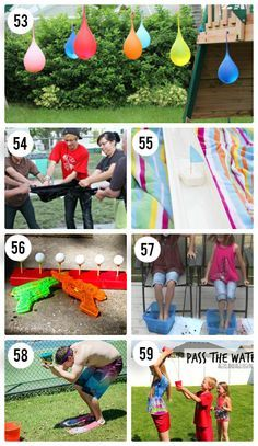 65 Outdoor Party Games for the Entire Family!