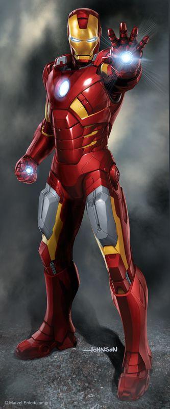 Iron Man - by Scott Johnson | #comics  Auction your comics on http://www.comicbazaar.co.uk