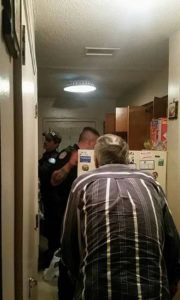 79-Yr-Old Calls 911 & Says He Hasn't Eaten In 2 Days. Then Cops Look In Fridge & Spring Into Action. - InspireMore