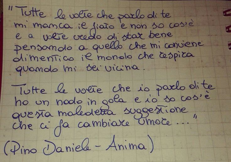 Pino Daniele - Anima - Love - Music