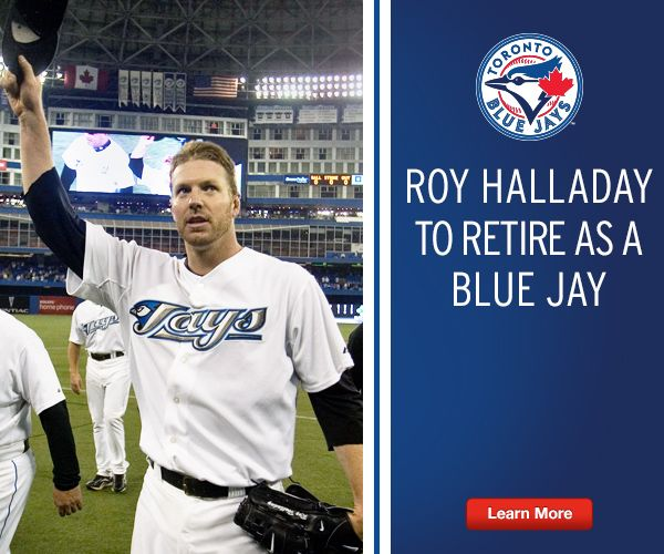 What a classy guy!!! Roy Halladay has decided to officially retire from baseball, but not before he signed one final contract with the Blue Jays. Toronto's former ace signed a one-day contract with the Jays ensuring that he would finish his career with Toronto.