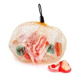 Fruit flavoured soft gummy body part sweets