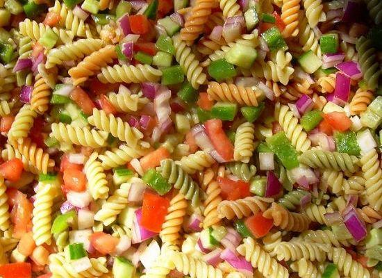 Summer Eating A Simple Pasta Salad Recipe Organic Pasta