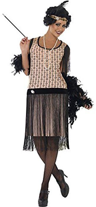 c9768e446b4 Amazon.com  Smiffy s Women s 1920 s Coco Flapper Costume