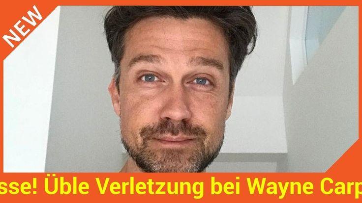 Ob Schwimmen Joggen oder Pumpen im Gym: Schauspieler Wayne Carpendale (40) ist ein echter Sport-Junkie. Jetzt wird der Mann von Annemarie Carpendale (39) jedoch erst mal eine Trainingspause einlegen müssen: Wayne hat sich fies am Fuß verletzt!   Source: http://ift.tt/2wlUd0Y  Subscribe: http://ift.tt/2hanhOr! Üble Verletzung bei Wayne Carpendale