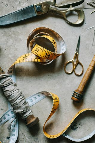 Italian Tailor's Tape , measuring tape - Studio Carta, Signora e Mare  - 1