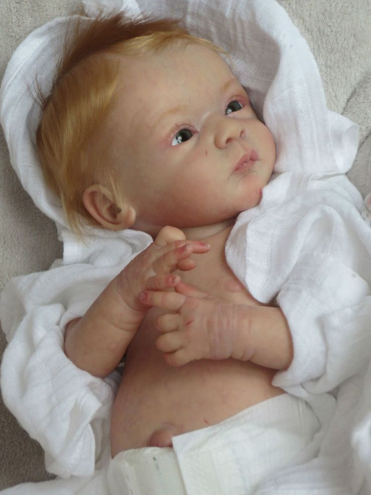 Reborn Baby Doll LINDEA by Gudrun Legler