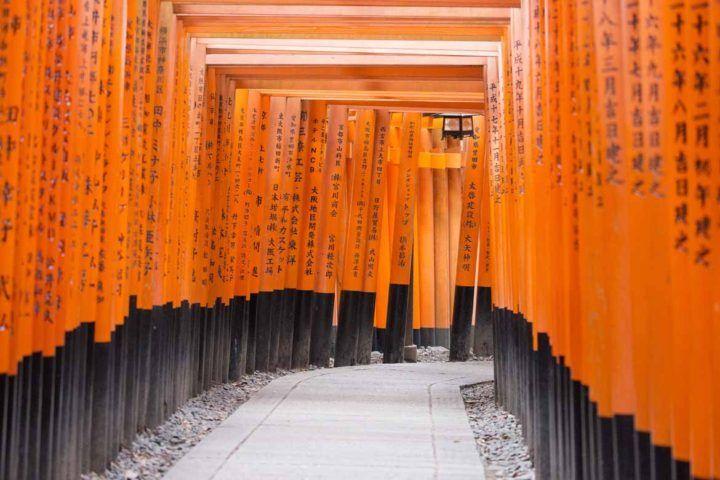 Checked: Kyoto's Fushimi Inari Shrine