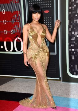 Nicki Minaj on the red carpet at the 2015 VMA Movie Awards in Los Angeles, California. | MTV Photo Gallery