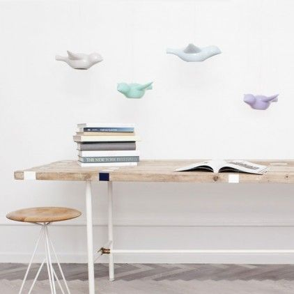 Alma's Room Eraly Bird Ceramic Lamp